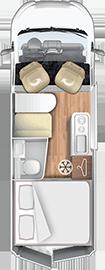 Grundskizze Wohnmobil
